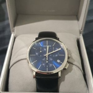 Calvin Klein watch chronograph